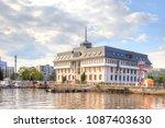 kaliningrad  russia   april 28... | Shutterstock . vector #1087403630