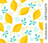 seamless pattern design | Shutterstock .eps vector #1087426070