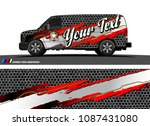 car graphic vector. abstract... | Shutterstock .eps vector #1087431080
