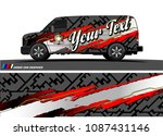 car graphic vector. abstract... | Shutterstock .eps vector #1087431146