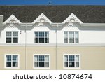 apartment building with... | Shutterstock . vector #10874674