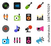 solid vector icon set | Shutterstock .eps vector #1087470329