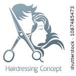 A Hairdresser Hair Salon...
