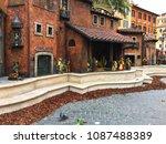 piazza di spagna  rome  italy   ... | Shutterstock . vector #1087488389
