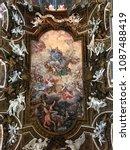 santa maria della vittoria... | Shutterstock . vector #1087488419