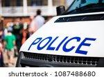 surrey  uk. 7th may 2018.... | Shutterstock . vector #1087488680