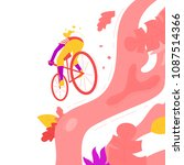 vector colorful illustration of ... | Shutterstock .eps vector #1087514366