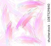seamless pattern. vector... | Shutterstock .eps vector #1087529840