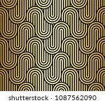 seamless pattern with geometric ... | Shutterstock .eps vector #1087562090
