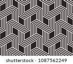 seamless pattern with geometric ... | Shutterstock .eps vector #1087562249