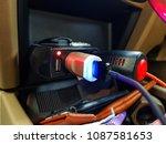 power external usb port with...   Shutterstock . vector #1087581653