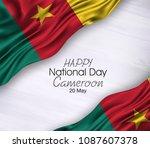 vector illustration of happy...   Shutterstock .eps vector #1087607378