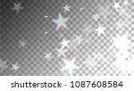 glitch art background. white... | Shutterstock .eps vector #1087608584