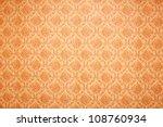 vintage floral wallpaper... | Shutterstock . vector #108760934