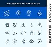 modern  simple vector icon set...   Shutterstock .eps vector #1087642283