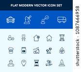 modern  simple vector icon set...   Shutterstock .eps vector #1087666958