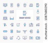 smart gadget   electronic...   Shutterstock .eps vector #1087680290