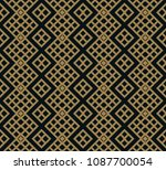 abstract geometric pattern with ... | Shutterstock .eps vector #1087700054