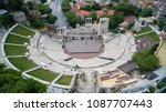 aerial view of the ancient... | Shutterstock . vector #1087707443