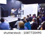 image of seminar venue | Shutterstock . vector #1087720490
