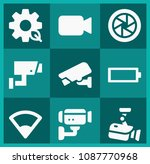 filled technology icon set such ...   Shutterstock .eps vector #1087770968