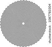 abstract randomly generated... | Shutterstock .eps vector #1087783304