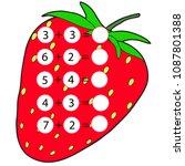 educational game for children.... | Shutterstock .eps vector #1087801388