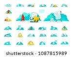 emoji sticker big set character ...