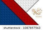 soccer tournament . design... | Shutterstock .eps vector #1087857563