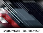 abstract background design with ... | Shutterstock .eps vector #1087866950