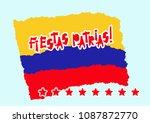 Flat Fiestas Patrias Design Fo...
