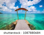 amazing ocean view from a... | Shutterstock . vector #1087880684