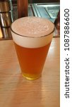 Small photo of A glass of ale beer