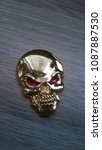 Small photo of Red Eye Skull