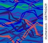 angular interlacing threads   Shutterstock .eps vector #1087902629