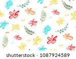 seamless pattern of abstract...   Shutterstock .eps vector #1087924589
