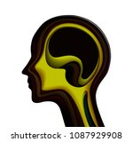 inner emotional concept ... | Shutterstock .eps vector #1087929908