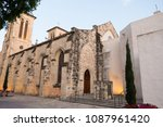 historic old church that has... | Shutterstock . vector #1087961420