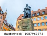 nurnberg  germany  april 11 ... | Shutterstock . vector #1087963973