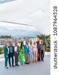 Small photo of CANNES, FRANCE - MAY 08: Lea Seydoux, Andrey Zvyagintsev, Ava DuVernay, Denis Villeneuve, Kristen Stewart, Cate Blanchet, Khadja Nin and Chang Chen attend the Jury photocall 71 Cannes film festival