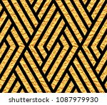 abstract geometric pattern with ... | Shutterstock .eps vector #1087979930
