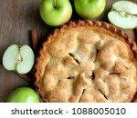 Overhead Shot Of An Apple Pie...