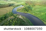 aerial view of natural river in ... | Shutterstock . vector #1088007350