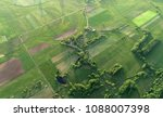 aerial shot from the drone  ...   Shutterstock . vector #1088007398