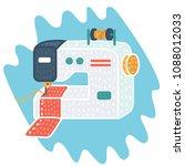 vector cartoon illustration of...   Shutterstock .eps vector #1088012033