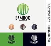 bamboo logo designs template   Shutterstock .eps vector #1088021039
