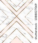 vector marble background with... | Shutterstock .eps vector #1088027069