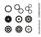 set of cogwheels icons | Shutterstock .eps vector #1088046050