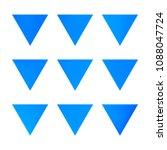 vector gradient reverse... | Shutterstock .eps vector #1088047724