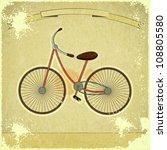 vintage postcard   retro... | Shutterstock . vector #108805580